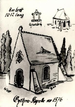 1576 Kirche zu Eythra