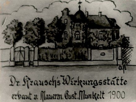 1900 Villa Krausch in der Neuhofer Straße
