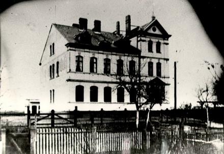 1903 Schule in der Schulstraße