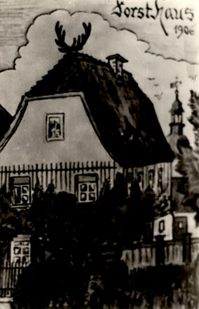 1906 Forsthaus in der Teichstraße