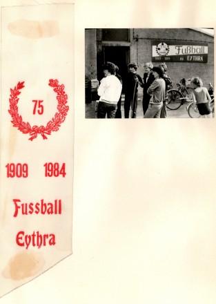 1984 75 Jahre Fußball in Eythra