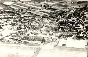 Postkarte Luftbild gesamter Ort